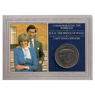 1981 £5 Crown - Charles and Diana - Presentation Folder